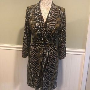 Issa London Banana Republic Zebra Dress, BNWT